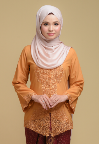 Kebaya Mulan - MUSTARD (Top only)